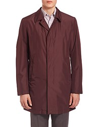 Pal Zileri Lightweight Jacket Burgundy