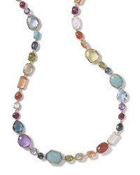 Multi Stone Single Strand Necklace In Summer Rainbow Multi Colors Ippolita