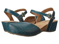 Spring Step Lizzie Navy Women's Sandals
