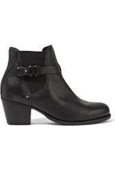 Rag And Bone Durham Leather Ankle Boots Black
