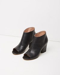 Maison Martin Margiela Open Toe Boot Black