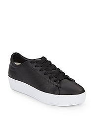 Nine West Leather Platform Sneakers