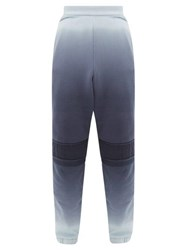 Ambush Gradient Cotton Jersey Track Pants Blue
