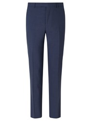 Daniel Hechter Textured Marl Tailored Fit Suit Trousers Blue