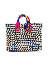 Nannacay Belle Tote Blue