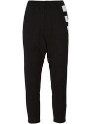 Y 3 Square Detailing Trousers Black