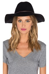 Seafolly Wayfarer Floppy Hat Black