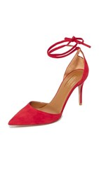 Aquazzura Heart Breaker Pumps Lipstick