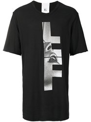 Lost And Found Rooms Face Printed T Shirt Black