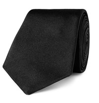 Paul Smith 6Cm Silk Twill Tie Black