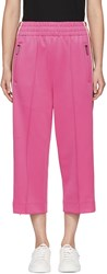 Marc Jacobs Pink Three Quarter Track Pants