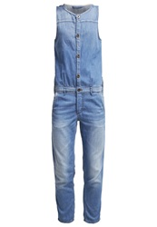Marc O'polo Jumpsuit Beach Wash Blue Denim
