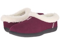 Foamtreads Isabel Burgundy Women's Slippers