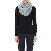 Barneys New York Cashmere Infinity Scarf Green