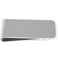 Mulberry Metal Money Clip Silver
