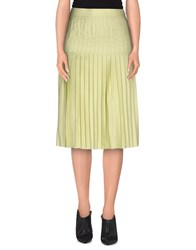 Givenchy Skirts Knee Length Skirts Women Yellow