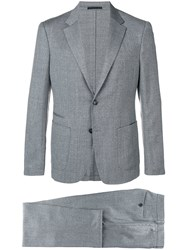 Z Zegna Perfectly Fitted Suit Grey
