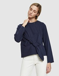 Just Female Ady Is Blouse In Stormy Blue