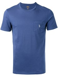 Polo Ralph Lauren Chest Pocket T Shirt Blue