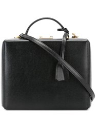 Mark Cross 'Grace' Shoulder Bag Black