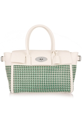 Mulberry Bayswater Buckle Woven Leather Tote