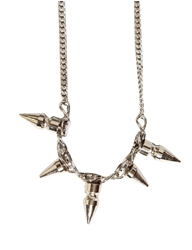 Pixie Market Spike Screw Necklace