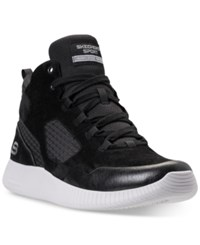 Skechers Men's Depth Charge High Top Walking Sneakers From Finish Line Black
