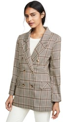 Lioness The Don Jacket Beige Check