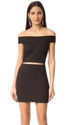 Bec And Bridge Georgia Mini Dress Black