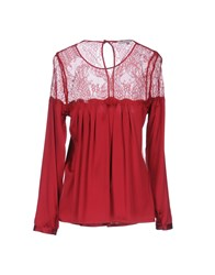 Christies A Porter Blouses Maroon