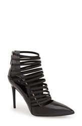 Women's Kenneth Cole New York 'Wam' Cage Pump Black