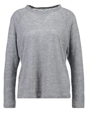 Filippa K Long Sleeved Top Light Grey Melange