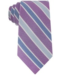 Club Room Men's Gypsy Classic Stripe Tie Only At Macy's Purple