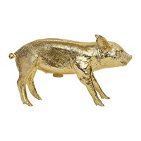 Areaware Bank In The Form Of A Pig Money Bank Gold