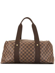 Louis Vuitton Vintage Weekender Mm Brown