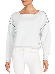 Rag And Bone Echo Sweatshirt Indigo