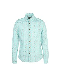 Mitchumm Industries Shirts Turquoise
