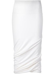 Urban Zen Tube Skirt White