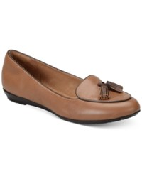 Sofft Bryce Smoking Flats Women's Shoes Whiskey Tan