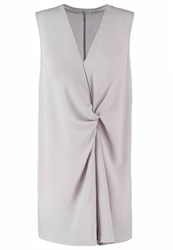 Missguided Summer Dress Grey