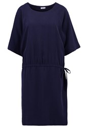 Filippa K Summer Dress Navy Blue Dark Blue