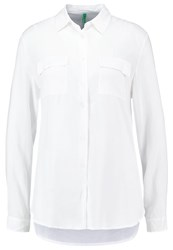 United Colors Of Benetton Poly Shirt White