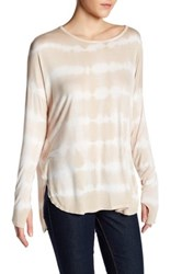 Sweet Romeo Long Sleeve Dolman Tee Beige