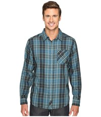 Mountain Hardwear Franklin Long Sleeve Shirt Thunderhead Grey Men's Long Sleeve Button Up Gray