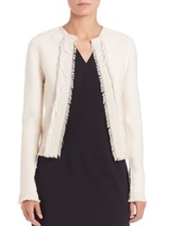 Elie Tahari Emeline Jacket Winter White