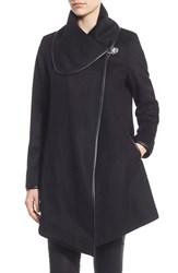 Women's Betsey Johnson Turnlock Closure Coat
