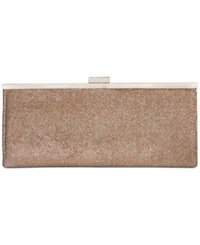 Style And Co. Carolyn Lurex Clutch Champagne
