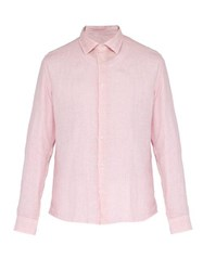 Altea Bond Long Sleeved Linen Shirt Pink
