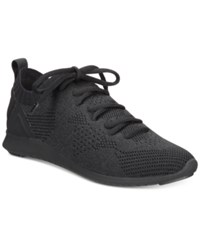 Ideology Mattyy Lace Up Sneakers Created For Macy's Women's Shoes Black