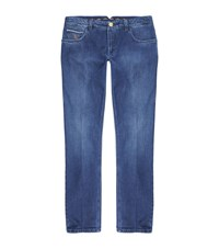 Stefano Ricci Embroidered Straight Leg Jeans Male